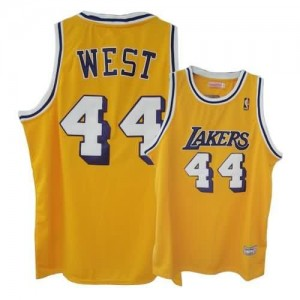 Maglie Basket West Los Angeles Lakers Giallo