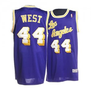 Maglie Basket West Los Angeles Lakers Porpora