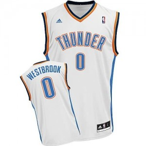 Maglie Basket Westbrook Oklahoma City Thunder Bianco