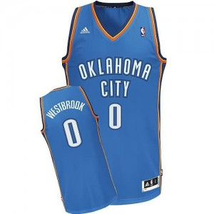 Maglie Basket Westbrook Oklahoma City Thunder Blu