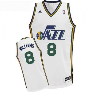 Maglie Basket Williams Utah Jazz Bianco