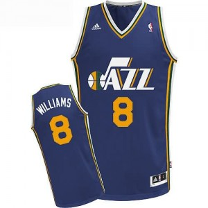 Maglie Basket Williams Utah Jazz Blu