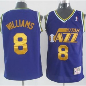 Maglie Basket Williams Utah Jazz Porpora