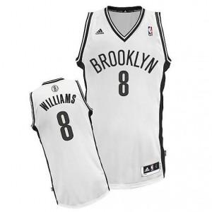 Canotte NBA Rivoluzione 30 Williams Brooklyn Nets Bianco