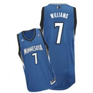 Canotte NBA Rivoluzione 30 Williams Minnesota Timberwolves Blu