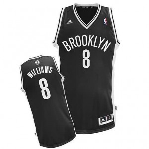 Canotte NBA Rivoluzione 30 Williams Brooklyn Nets Nero