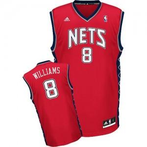 Canotte NBA Rivoluzione 30 Williams Brooklyn Nets Rosso