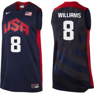 Canotte Williams USA 2012 Nero