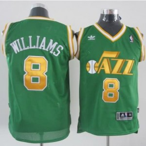 Maglie Basket Williams Utah Jazz Verde