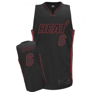 Maglie Basket James Miami Heats Nero
