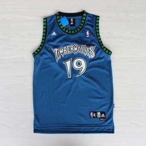 Maglie Basket retro Cassell Minnesota Timberwolves Blu