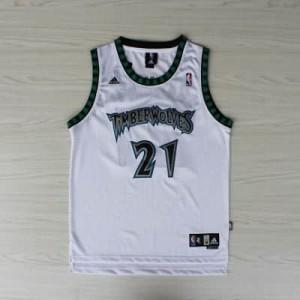 Maglie Basket retro Garnett Minnesota Timberwolves Bianco