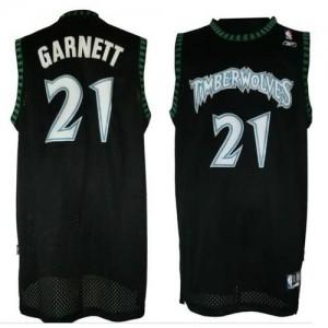 Maglie Basket retro Garnett Minnesota Timberwolves Nero