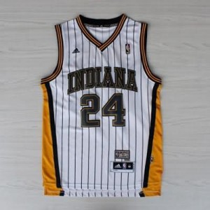 Canotte NBA Rivoluzione 30 retro George Indiana Pacers Bianco