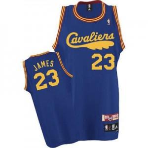 Maglie Basket retro James Cleveland Cavaliers Blu