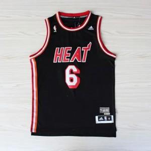 Canotte NBA Rivoluzione 30 retro James Miami Heats Nero