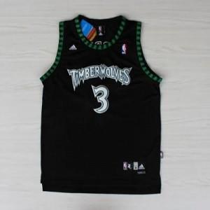 Maglie Basket retro Marbury Minnesota Timberwolves Nero