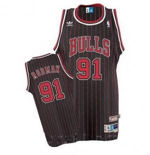 Maglie Basket Rodman Chicago Bulls Nero