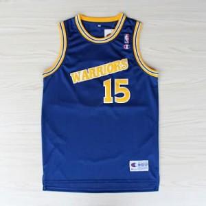 Canotte NBA Rivoluzione 30 retro Sprewell Golden State Warriors Blu