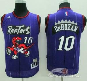 Maglie Basket NBA Bambini DeRozan Toronto Raptors Purpura