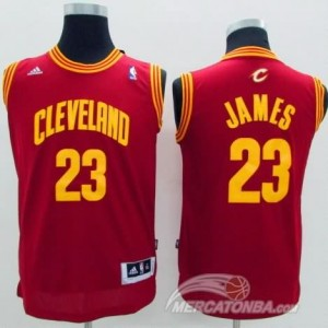 Maglie Bambini James Cleveland Cavaliers Rosso