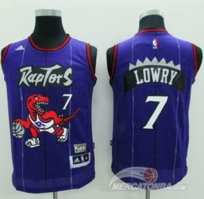 Maglie Basket NBA Milano Bambini Lowry Toronto Raptors Purpura