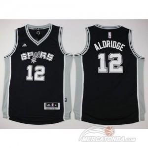 Maglie Bambini Aldridge San Antonio Spurs Nero