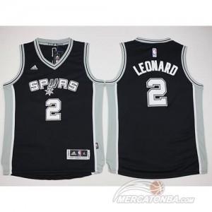 Maglie NBA Bambini Leonard San Antonio Spurs Nero