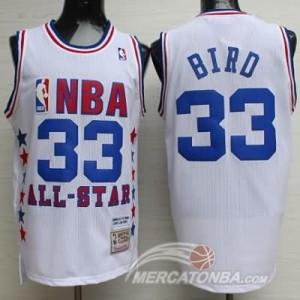 Canotte NBA Bird All Star 1990 Bianco