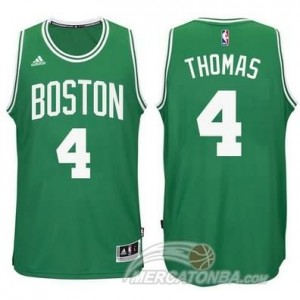 Maglie Basket Thomas Boston Celtics Verde
