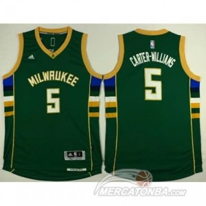 Canotte Basket Carter-Williams Milwaukee Bucks Verde