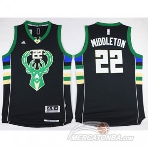Canotte Basket Middleton Milwaukee Bucks Nero