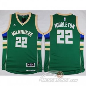 Canotte Basket Parker Milwaukee Bucks Verde