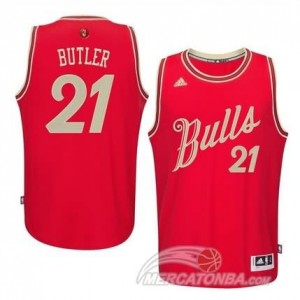 Maglie Shop Butler Christmas Chicago Bulls Rosso