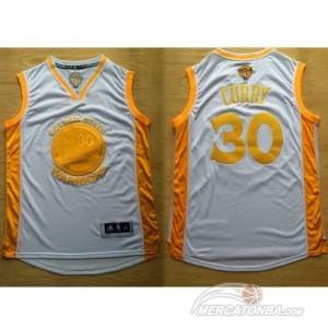 Maglie Shop Campeon Curry Golden State Warriors Oro
