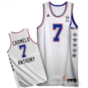 Canotte NBA Carmelo All Star 2015 Bianco