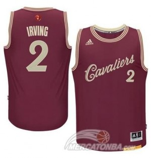 Maglie Basket Irving Christmas Cleveland Cavaliers Rosso