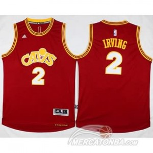 Maglie Basket Retro Irving Cleveland Cavaliers Rosso