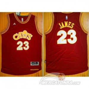 Maglie Basket James Cleveland Cavaliers Rosso