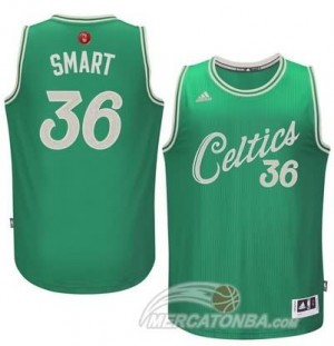 Maglie Basket Smart Christmas Boston Celtics Verde