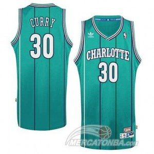 Canotte Basket Charlotte Curry New Orleans Hornets Verde