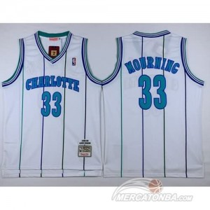 Canotte Basket Charlotte Mourning New Orleans Hornets Bianco