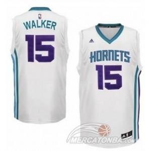 Canotte Basket Charlotte Walker New Orleans Hornets Bianco