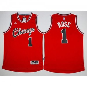 Maglie Basket Retro Rose Chicago Bulls Rosso