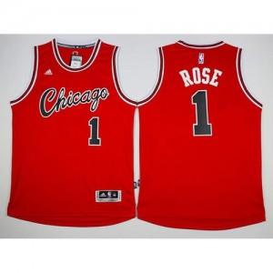 Maglie Basket Retro Rose Chicago Bulls Rosso