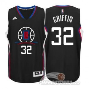Maglie Shop Griffi Los Angeles Clippers Nero
