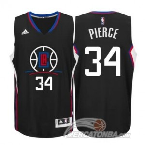 Maglie Basket Pierce Los Angeles Clippers Nero