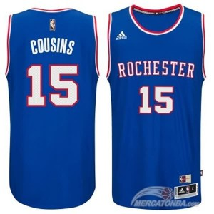 Maglie Shop Cousins Sacramento Kings Blu