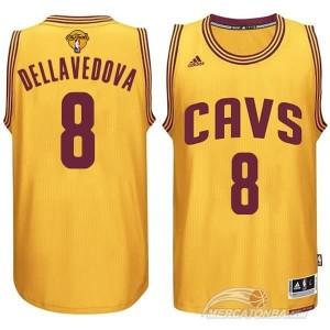 Canotte NBA Rivoluzione 30 Dellavedova Cleveland Cavaliers Giallo