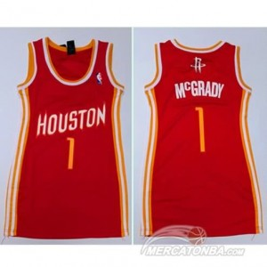 Maglie NBA Donna McGrady Houston Rockets Rosso